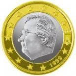 1 euro (other side, country Belgium) 1
