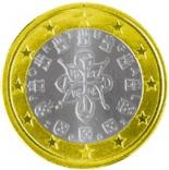 1 euro (other side, country Portugal) 1