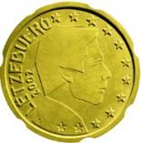 20 cents (other side, country Luxemburg) 0.2