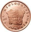 2 cents (other side, country Slovenia) 0.02