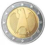 2 euro (other side, country Germany) 2