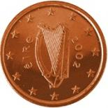 5 cents (other side, country Ireland) 0.05